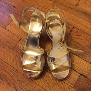 Authentic Jimmy Choo wedge sandals